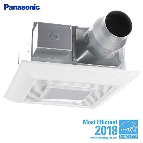 Panasonic Fv 08 11vfl5 Whisperfit Ez Retrofit Fan Light Https Www Amazon Com Dp B00xbzfxj4 Ref Cm Bathroom Fan Ceiling Exhaust Fan Bathroom Exhaust Fan