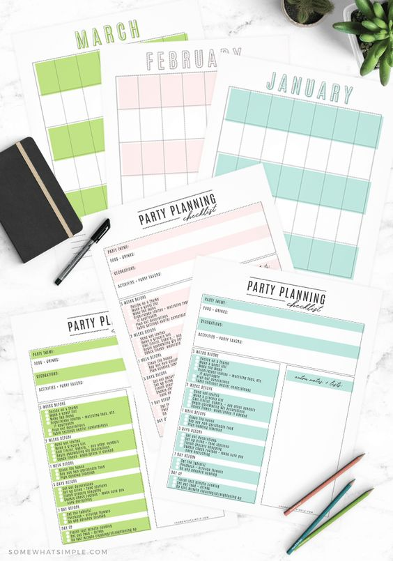 3 steps to hosting a fantastic party + a FREE party planning checklist! (Your next event is going to be amazing!) #partyplanning #partyplanner #freeprintable #printable #organize #howtoplanapaarty