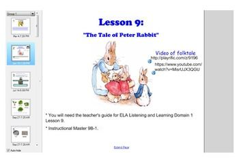 Smart Board Lessons to supplement the Engage NY Grade 1 Domain 1 Listening and Learning teacher's guide!  Lessons 7-10