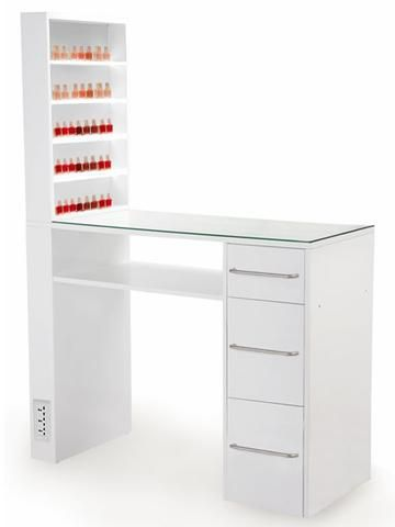 Salon beauty manicure nail table 47001 buy salon beauty for Beauty table for nails