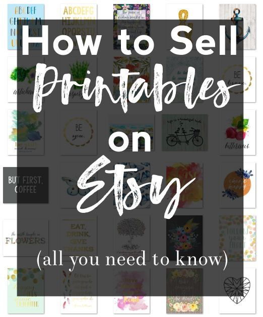 Sell On Etsy How To Sell Printables On Etsy Things To Sell Etsy Success Etsy Printables