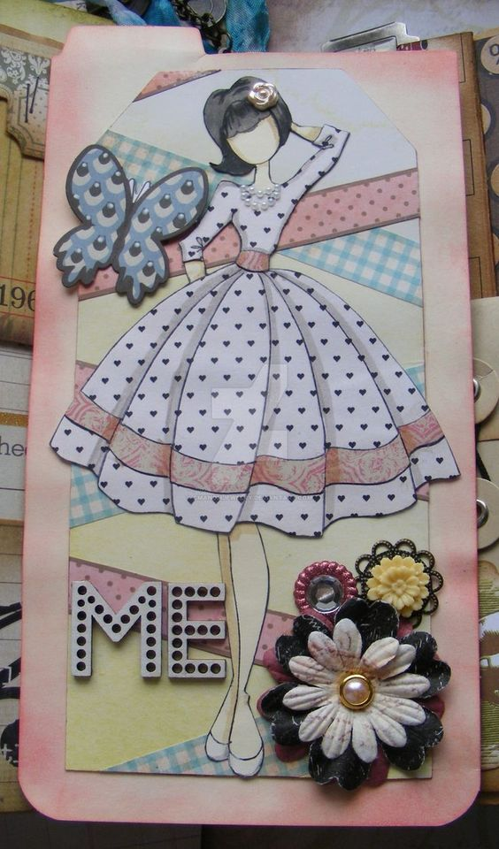 007 Julie Nutting Prima Dolls Stamps Collection