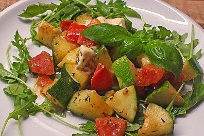 Zucchini - Tomaten - Gemüse (Rezept mit Bild) von mickyjenny | Chefkoch.de