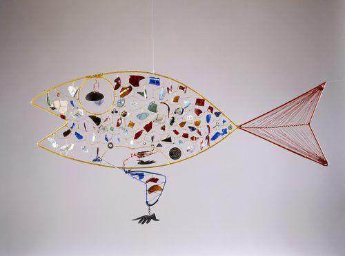Alexander Calder :  Finny Fish