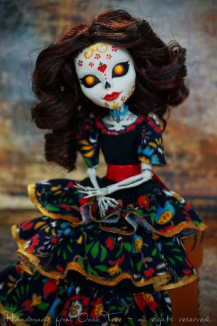 The Book of Life - Carmen Sánchez OOAK doll