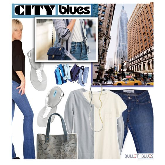 City Blues with  #bulletblues #Babe #Jeans #madeinUSA @polyvore #polyvore