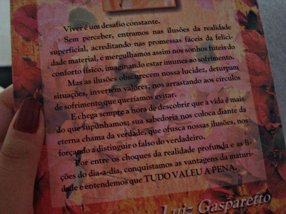 Livro - Tudo Valeu a Pena (Zíbia Gasparetto)