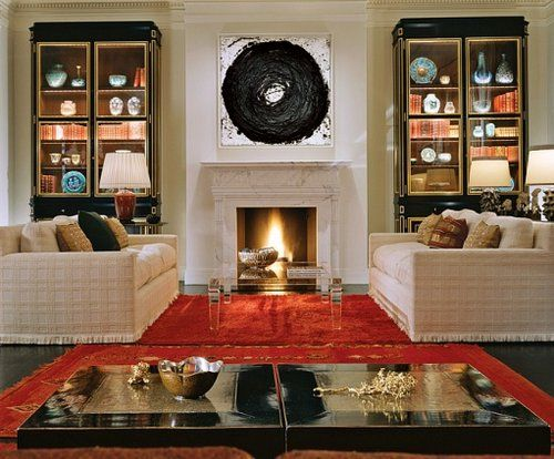 Symmetrical balance types of balance and home decorating for Symmetrical interior design