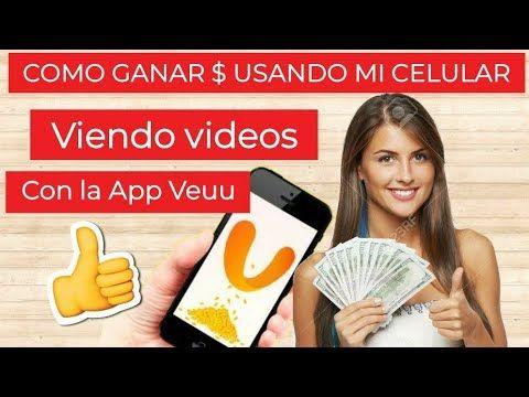 Como Ganar 30 Semanales Viendo Videos En Tu Celular App Veeu Youtube Ganar Dinero Paypal Ganar Dinero Por Internet Negocios Para Ganar Dinero