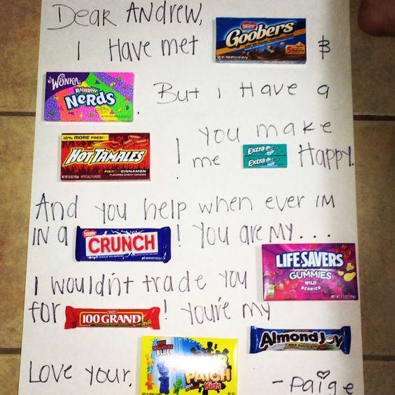 Teen valentine gift for boyfriend