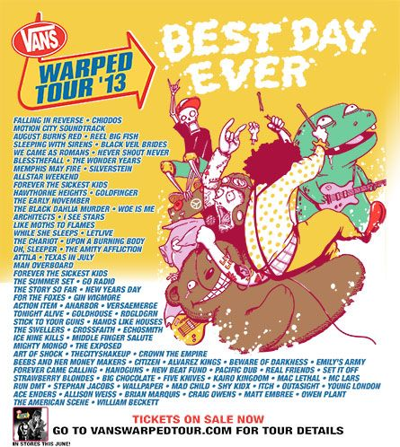 Warped Tour 2013