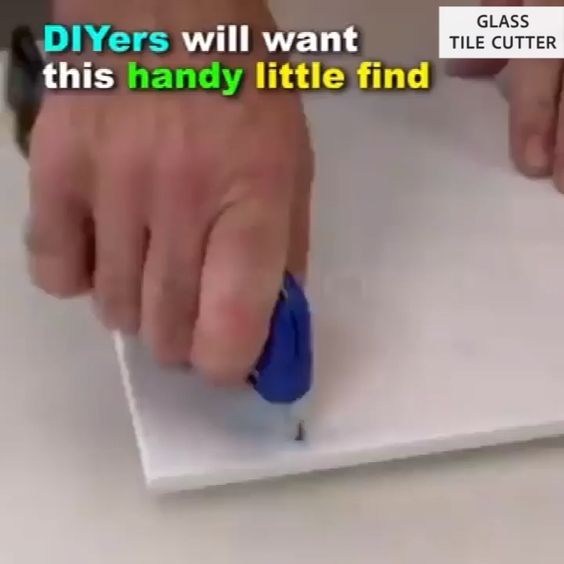 Professional Glass And Tile Cutter In 2020 Tile Cutter Glass Cutter Useful Life Hacks