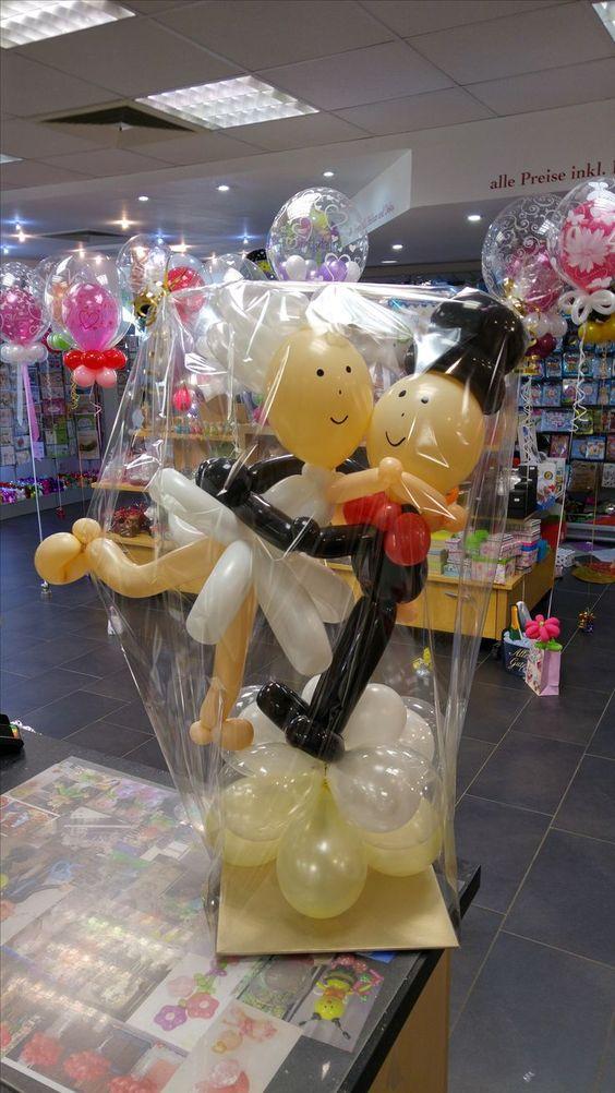 Geldgeschenke Zur Hochzeit Mit Luftballons Und Ohne Bei Partyzauber Rheine In Geldgeschenke Geldgeschenke Hochzeit Diy Geschenke Hochzeit Lustige Hochzeitsgeschenke