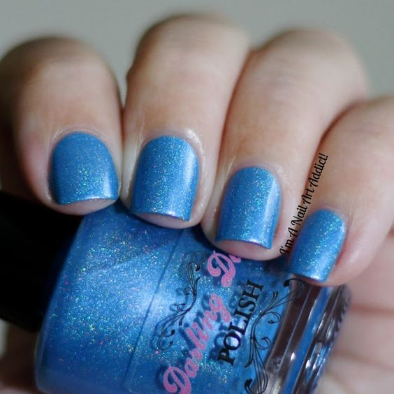 Darling Diva Polish // A-ffirmative (Hug My Face Collection), by I'm A Nail Art Addict!