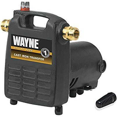 Wayne Pc4 1 2 Hp Cast Iron Multi Purpose Pump With Suction Strainer Portable Power Water Pumps A Utility Pumps Submersible Utility Pump Electric Water Pump
