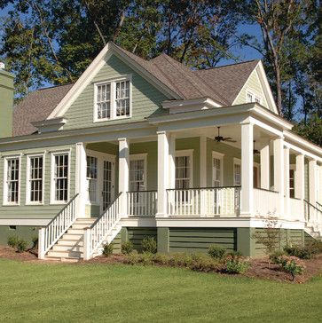 Porches country bedrooms and french country bedrooms on for Country porch catalog