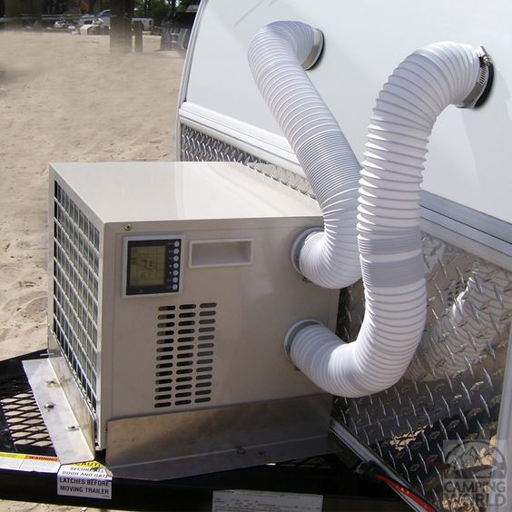 Portable Cooling Trailers : Portable btu air conditioner heater for small campers