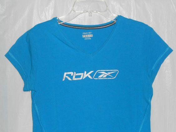 reebok dri fit t shirt womens silver