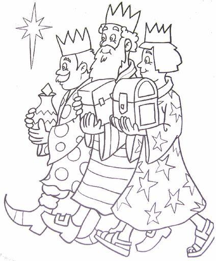 Wise men / wijzen uit het oosten / los tres reyes Magos de oriente / les rois mages: