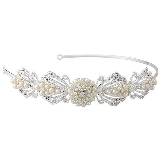 Art Deco Styled Bridal Headband
