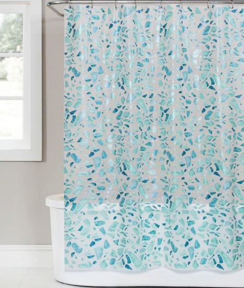 Coastal Beach Shower Curtains To Bring Ocean Side Serenity To Your Bathroom Beach Shower Curtains Beach Bathrooms Beach Shower