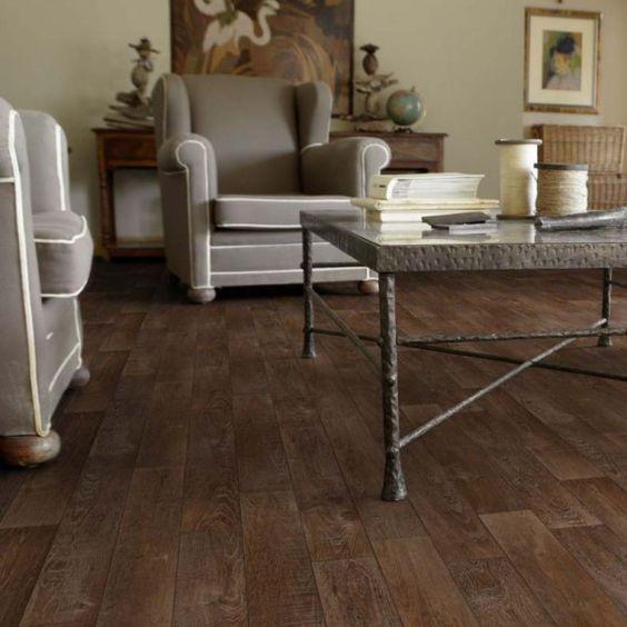 PVC Boden Tarkett Exclusive 260 Rustic Oak Red Brown 4m Bild 1