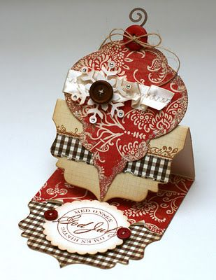 ornament easel card