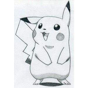 Easy things to draw for beginners how to draw pikachu for Stuff to draw easy