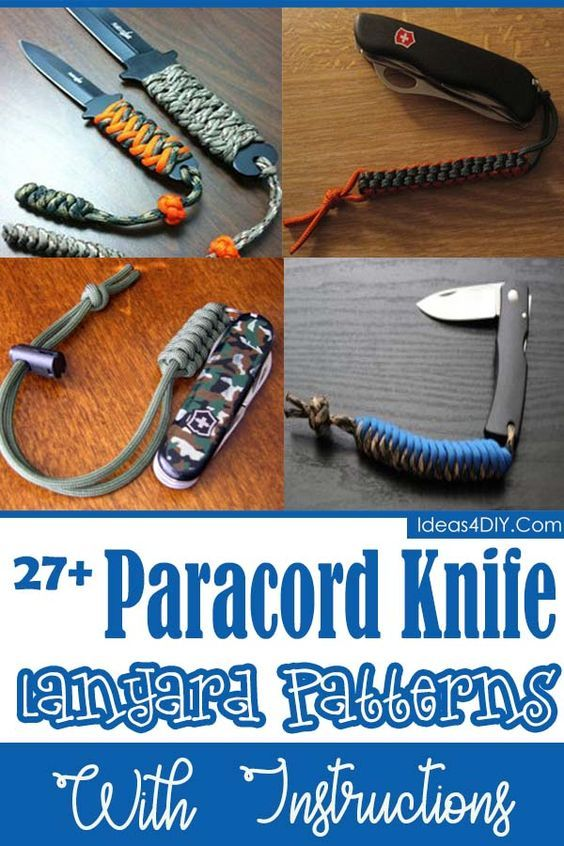 27 Diy Paracord Knife Lanyard Patterns With Instructions With