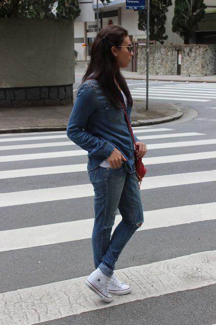 Nanda Pezzi - All denim + All Star