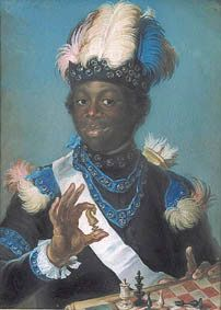 """Portrait of Gustav Badin"" (1775) by Gustaf Lundberg"