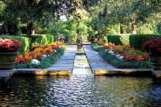 Bellingrath Gardens, Mobile, #Alabama It leads down to the Mermaid Fountain! My favorite!