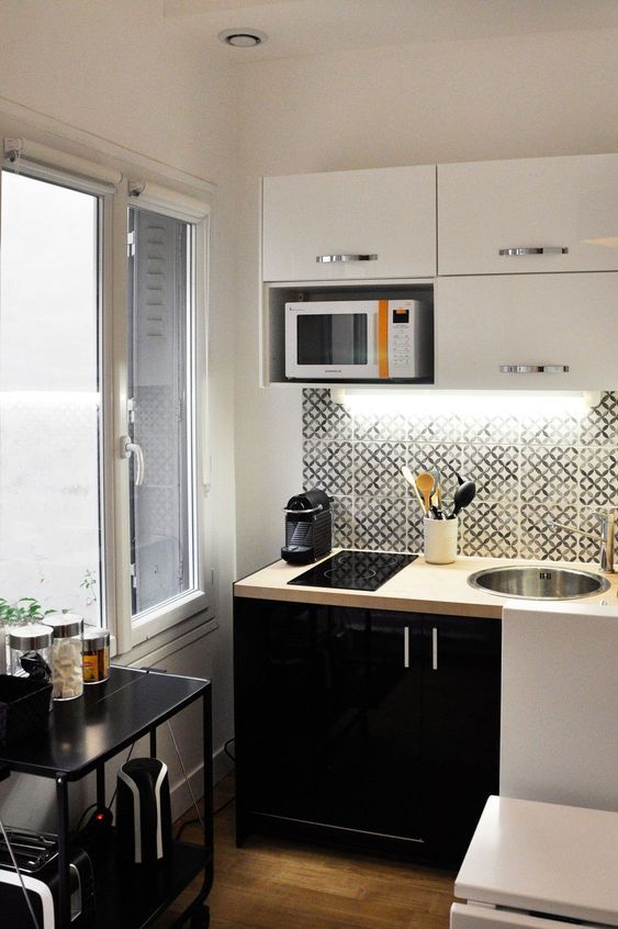 13 Best Inspiring Small Kitchen Design Ideas Small Apartment