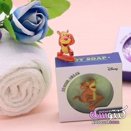 الصابون داخل لعبة موردين صابون للأطفال صناعة كورية بداخله لعبة Disney Soap
