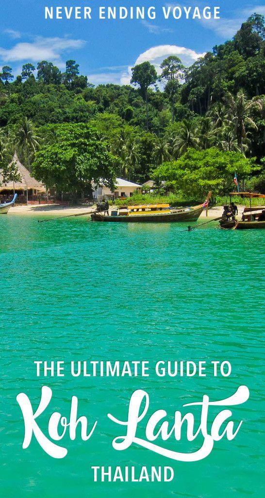 Koh Lanta 17 Mai 2019 : lanta, Things, Lanta:, Detailed, Guide, Favourite, Island, Travel, Destinations, Asia,, Thailand, Destinations,, Vacation