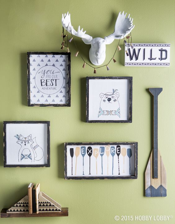 Adventure awaits the great outdoors and adventure on for Camping room decor
