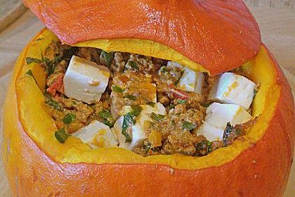 Gefüllter Hokkaido - Kürbis, ein schönes Rezept aus der Kategorie Halloween. Bewertungen: 197. Durchschnitt: Ø 4,4.