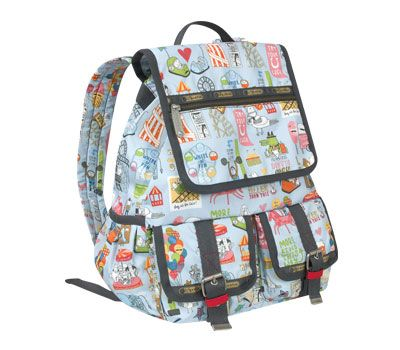 LeSportsac 9768 Double Pocket Pack Artist in Residence Kate Sutton. The perfect fun bag! Have it. Luv it.--- got the last one in Vegas!