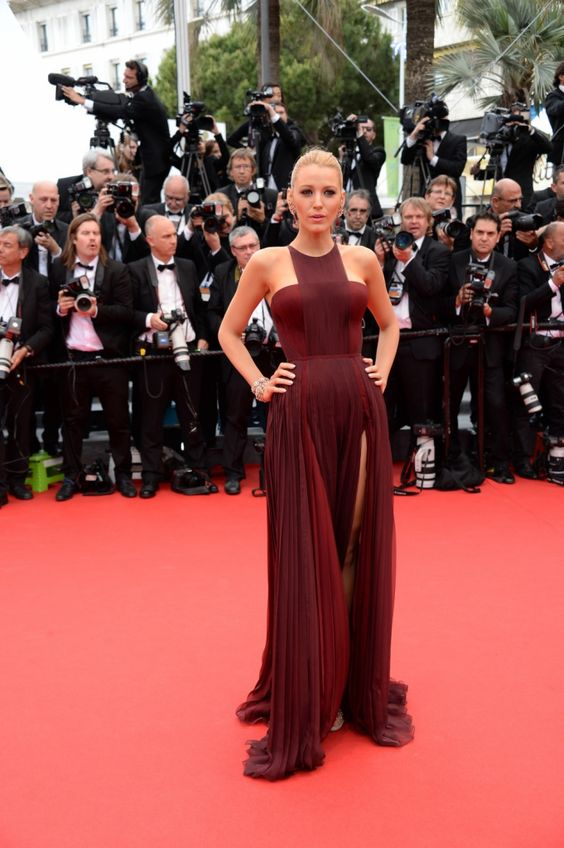 Blake Lively in Gucci (Cannes 2014)