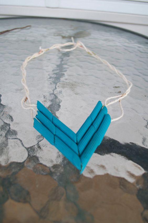 Indianer / PocahontasHalsketten von LittleWorldWonders auf Etsy, $5.20