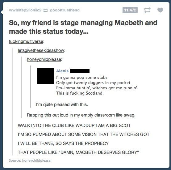 Image result for silly macbeth