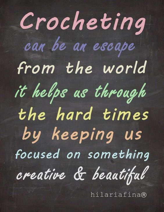 Crocheting Quotes : Crochet, Motivational quotes and The world on Pinterest