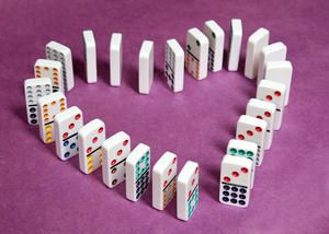 Let the Dominos Fall - good analogy and insightful perspective of all the pieces of our lives that may be arranged as dominos. I think we all feel like this sometimes!