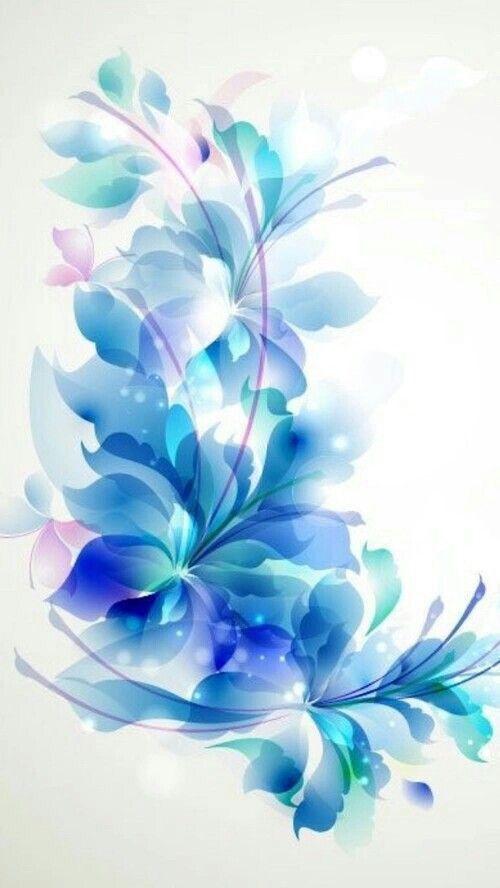 Épinglé par Abdou Guerinik sur fond d'écran | Toile de fleurs, Peinture  fleurs, Tableau peinture abstrait