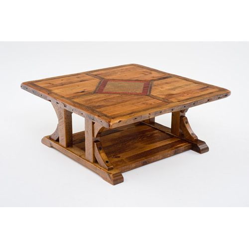 48x48 Coffee Table Renovation Table Modern Rustic