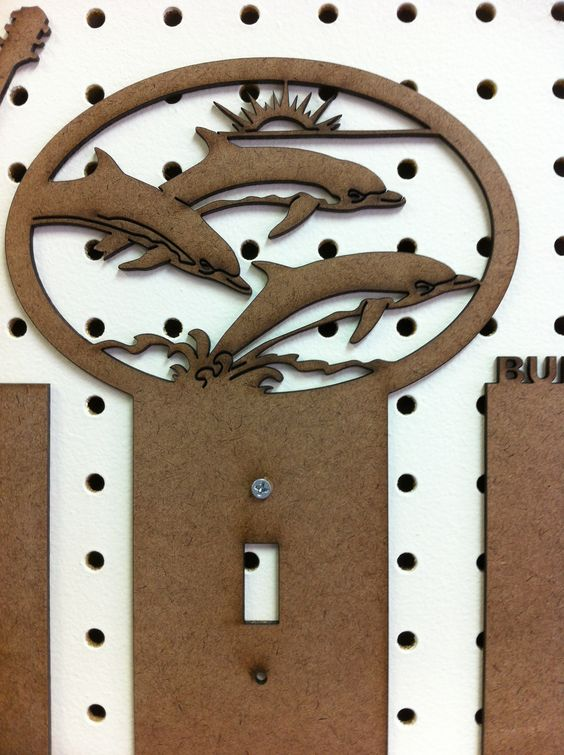 Laser cut from wood by Elle