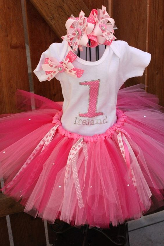 Tutu party theme but not for 1 year old tutu 39 s are so for 1 year birthday decorations