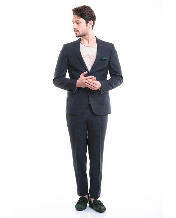 Toss Erkek Takım Elbise - Yeşil #gentleman #suit #takımelbise #karaca #ciftgeyikkaraca   www.karaca.com.tr