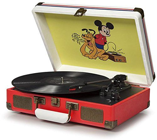 Crosley Disney Mickey Mouse Portable Turntable