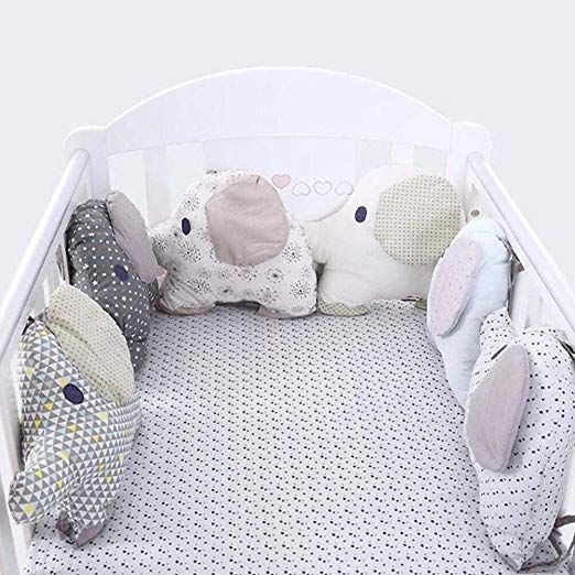 Flexible Combination All kinds of Bed Bumper Easy to Use Bumpers In The Crib
